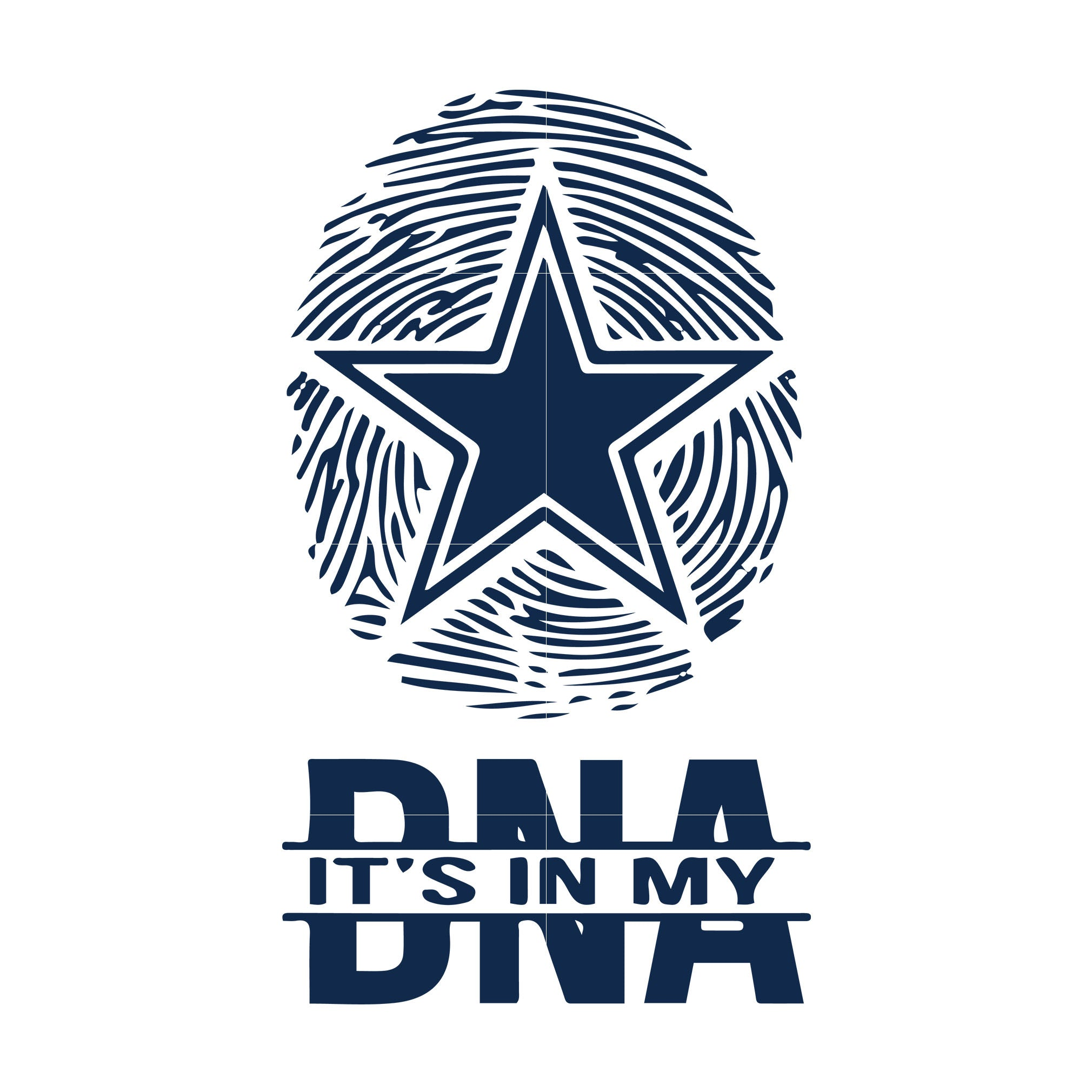 Cowboys It S In Dna Svg Dallas Cowboys Svg Cowboys Svg For Cut Svgtrending
