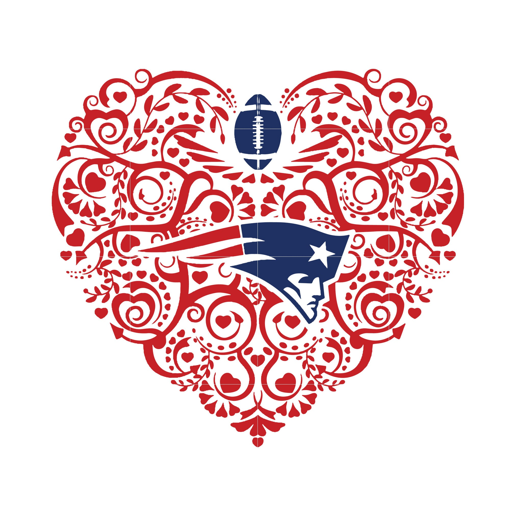 Patriots heart svg, patriots svg, patriots svg for cut