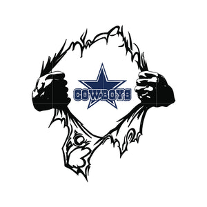 Cowboys super logo svg, dallas cowboys svg, cowboys svg for cut