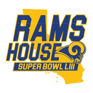 Rams house svg, rams svg, rams svg for cut