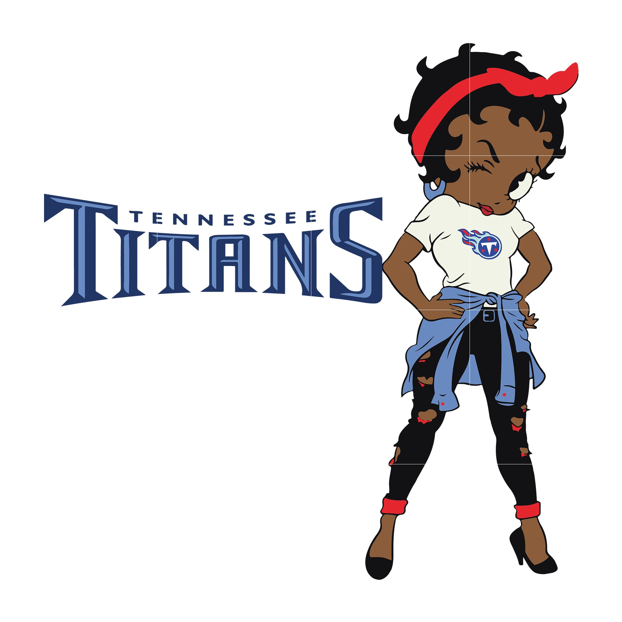 Betty boop Tennessee Titans, Tennessee Titans svg, png, dxf, eps. INSTANT DOWNLOAD