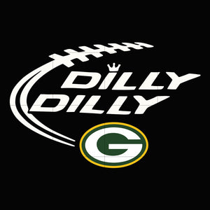 Packers dilly dilly svg, packers svg for cut