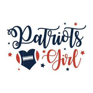 Patriots love girl svg, patriots svg, patriots svg for cut