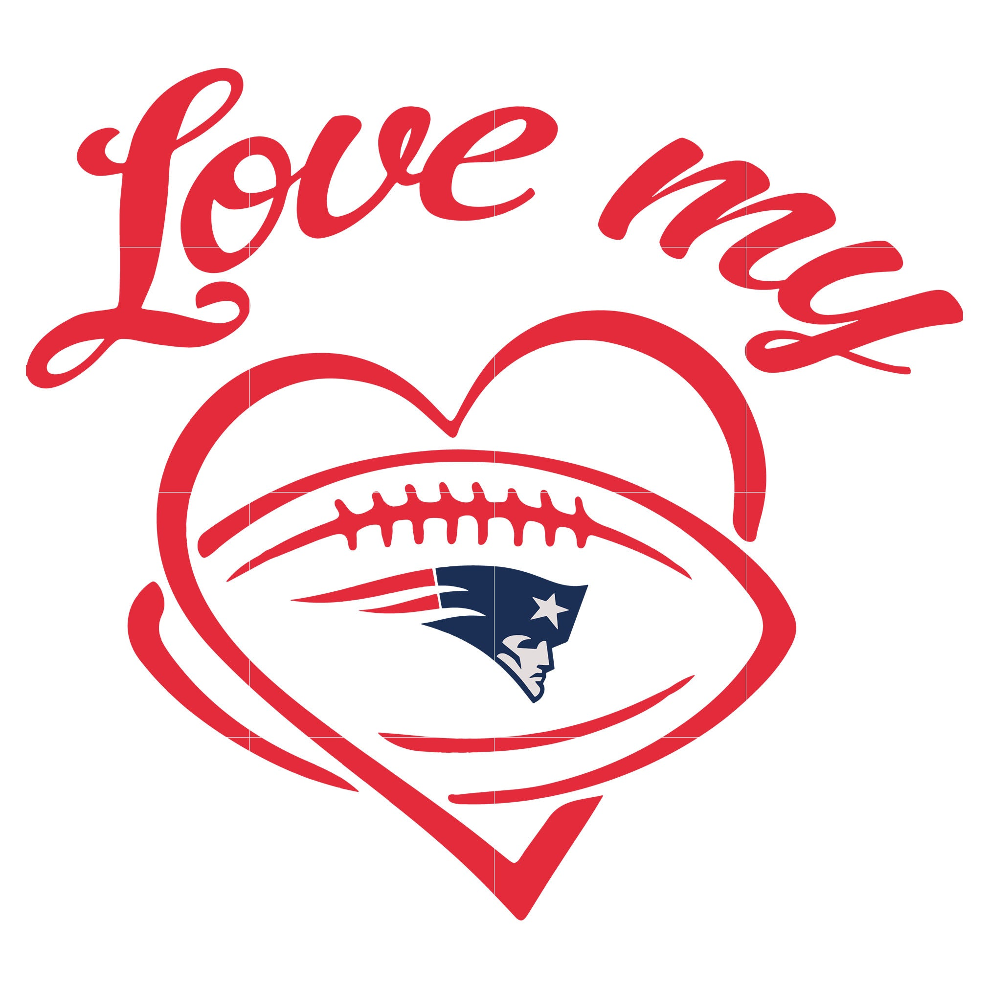 Love my patriots svg, patriots svg, patriots svg for cut