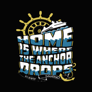 Home is where the anchor drops svg ,dxf,eps,png digital file