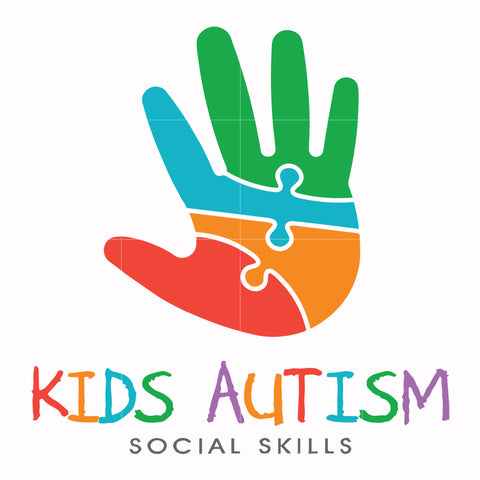Kids autism social skills svg, autism svg, autism awareness svg, dxf, eps, png digital file