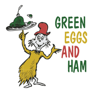 Green egg and ham, dr seuss svg, dr seuss quotes, digital file