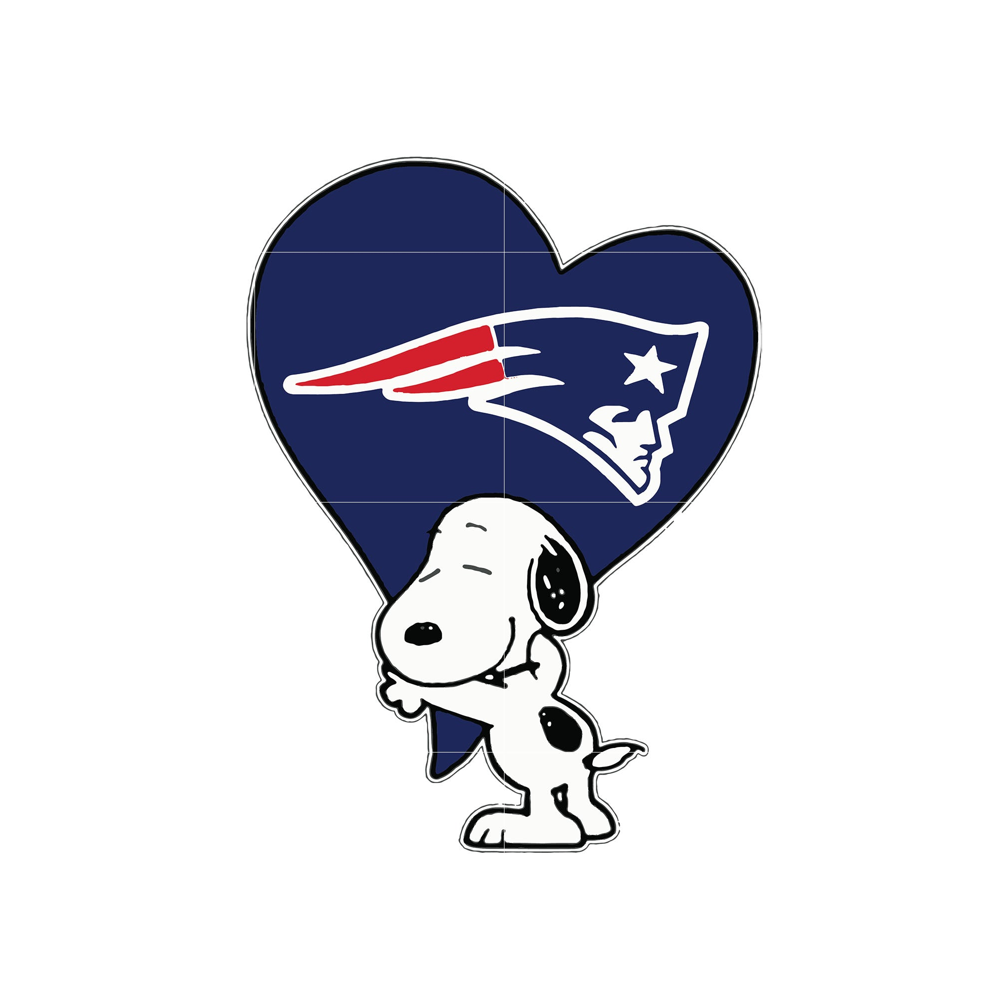 Snoopy love patriots svg, patriots svg for cut