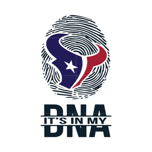 Texans it's in DNA svg, texans svg for cut