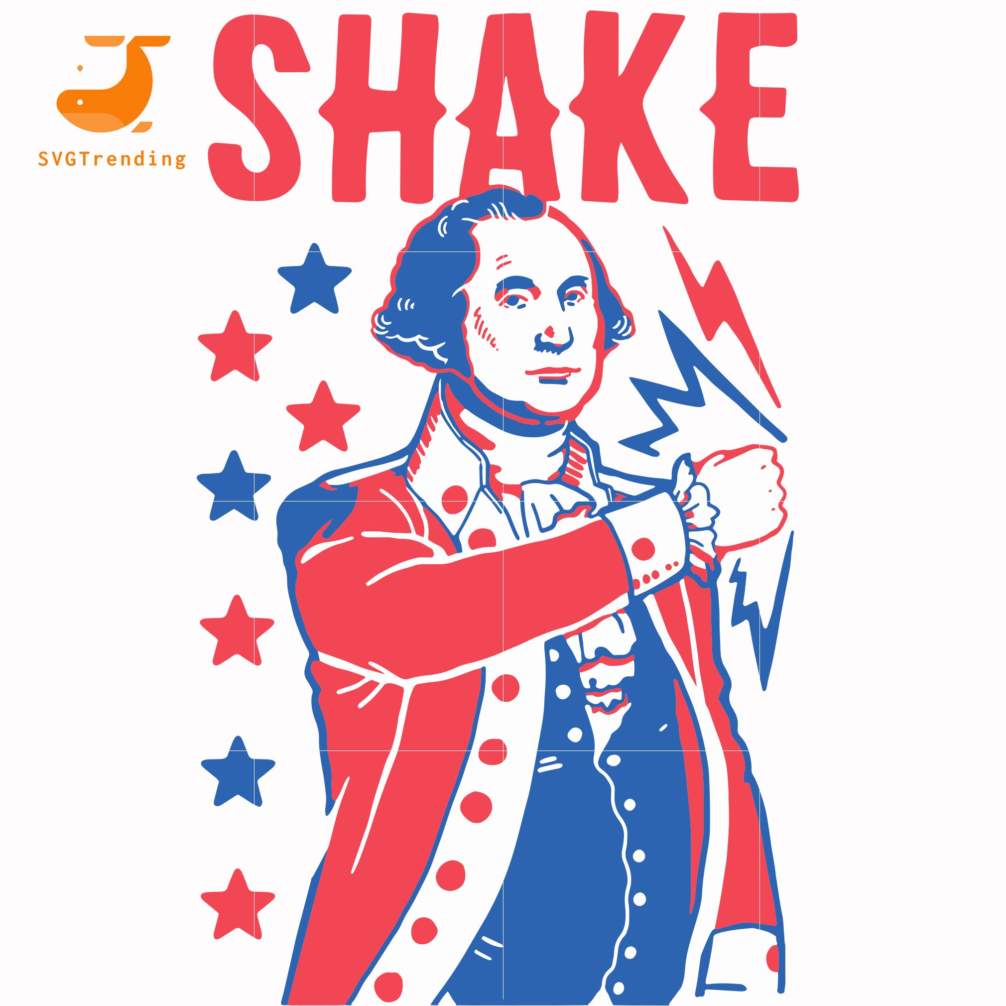 shake svg, png, dxf, eps, digital file