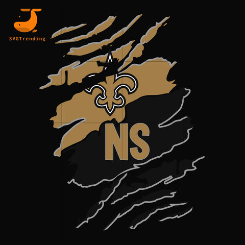 New Orleans Saints Cleveland Browns svg, png, dxf, eps digital file HLW0255