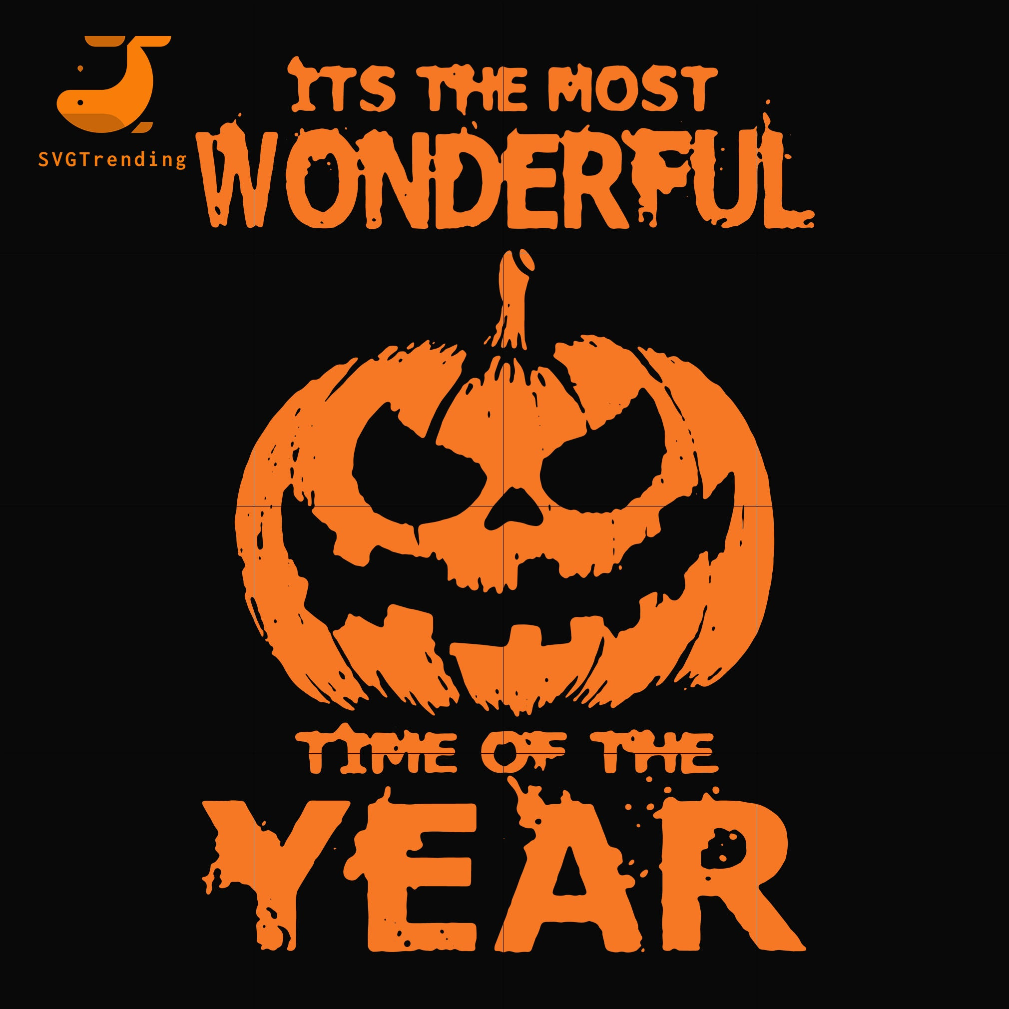 It S The Most Wonderful Time Of The Year Svg Halloween Svg Png Dxf Svgtrending