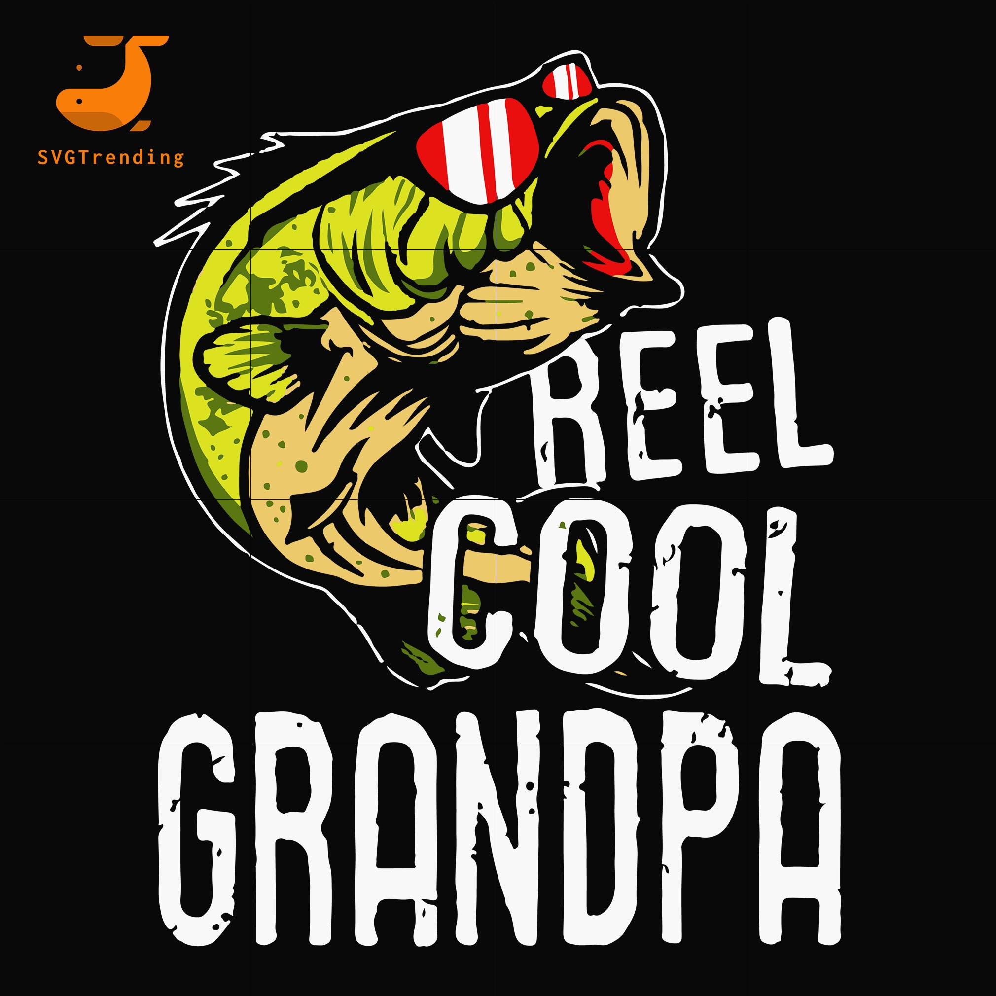reel cool papa svg, png, dxf, eps, digital file FTD56