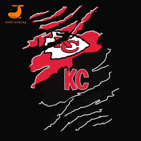 Kansas City Chiefs svg, png, dxf, eps digital file HLW0263