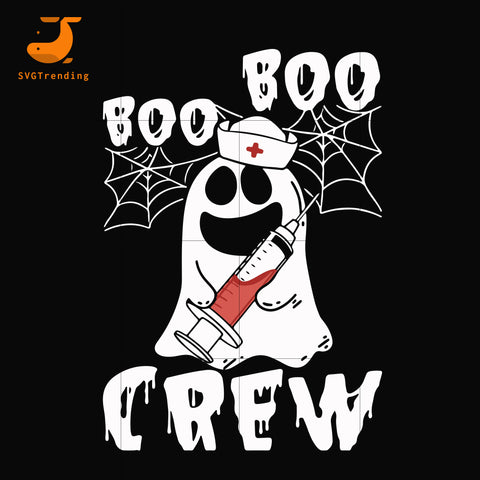 Boo boo crew svg, png, dxf, eps digital file HLW0098