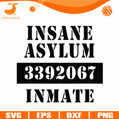 Insane asylum 3392067 inmate svg, halloween svg, png, dxf, eps digital file HLW2307216