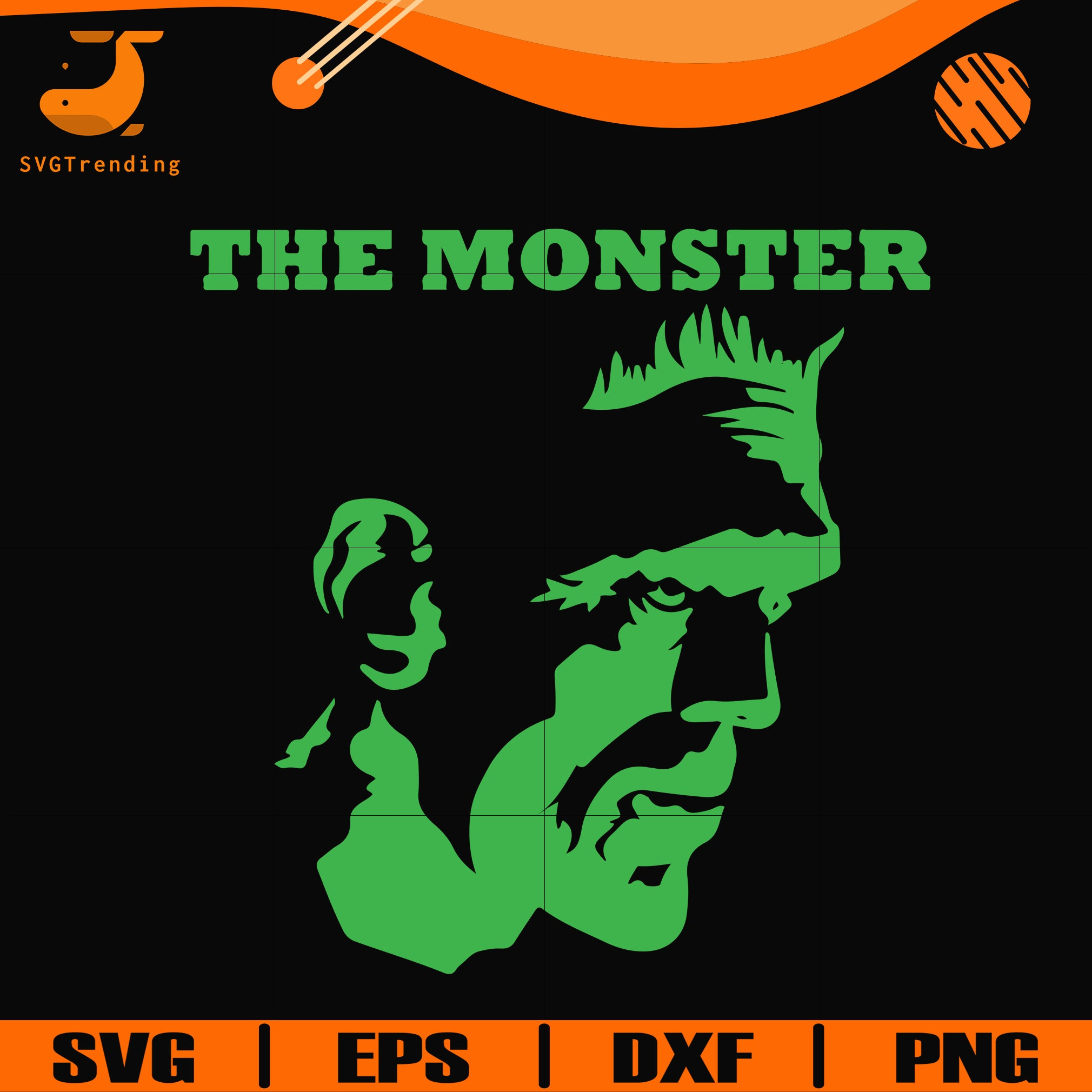 View Monster, Halloween Svg / Dxf / Eps / Png Files Design
