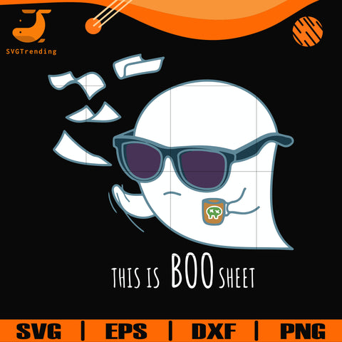 This is Boo sheet svg, png, dxf, eps digital file HWL21072025