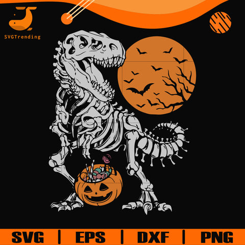 T Rex Halloween svg, halloween svg, png, dxf, eps digital file HWL22072032