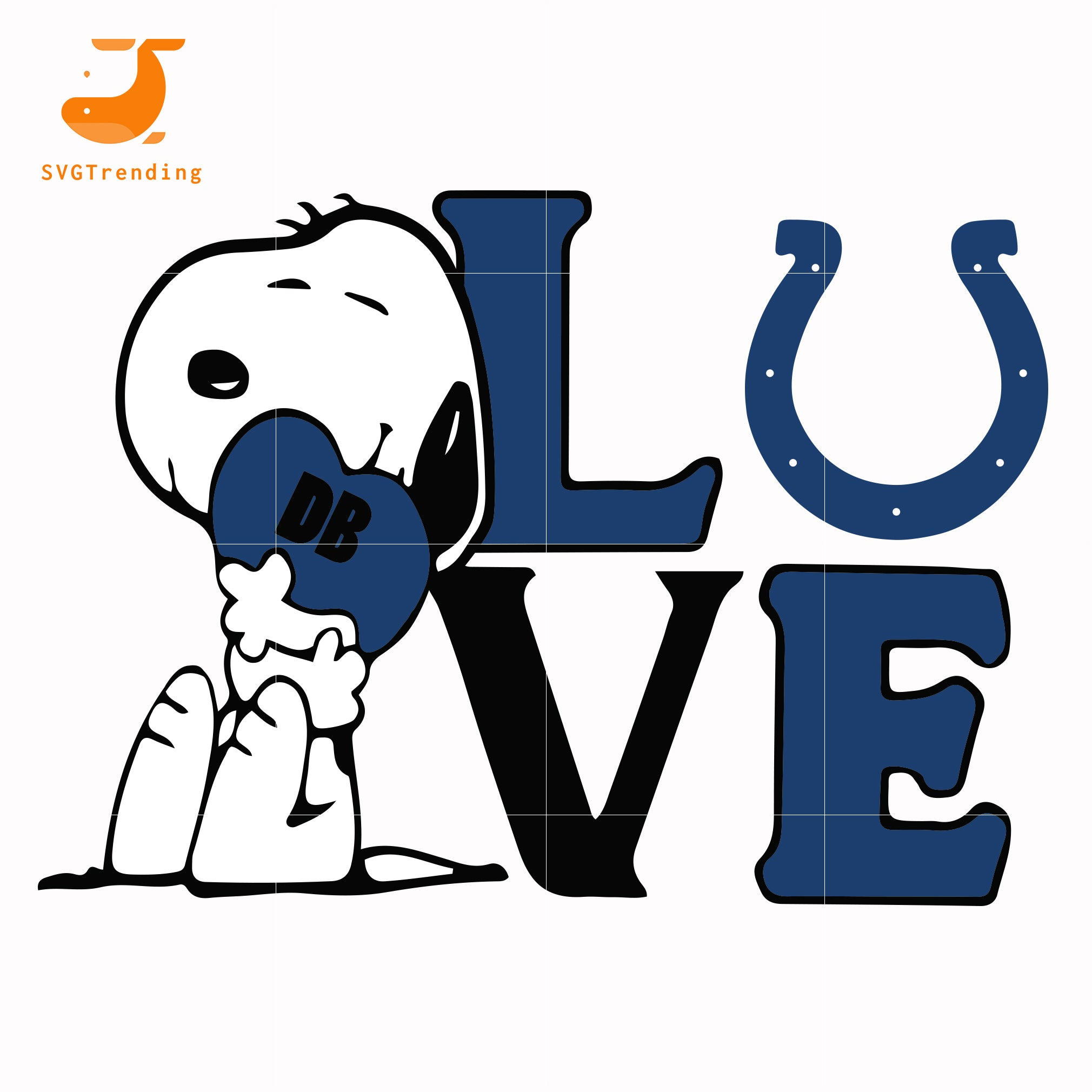 Snoopy Love Indianapolis Colts Svg Png Dxf Eps Digital File Td13 Svgtrending