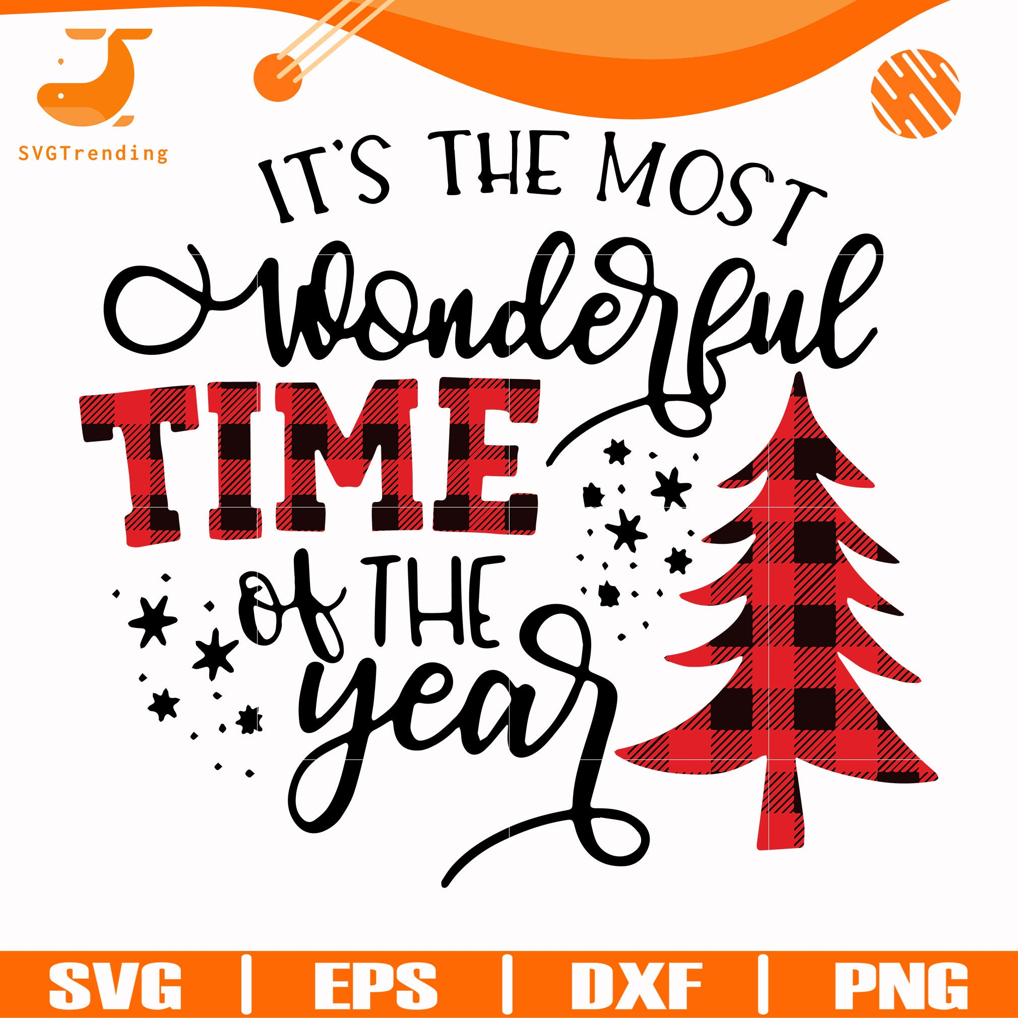 It's the most wonderful time of the year svg, png, dxf, eps digital file NCRM0153