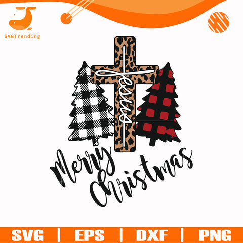 Merry Christmas Jesus svg, png, dxf, eps digital file NCRM15072029