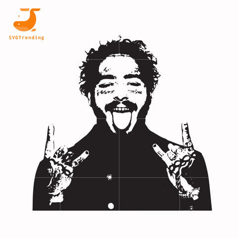 Post Malone svg, png, dxf, eps, digital file TD129