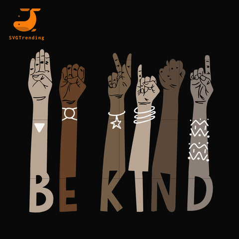 Bekind svg, png, dxf, eps, digital file TD37