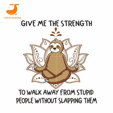 Give me the strength svg, png, dxf, eps, digital file TD39
