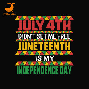 juneteenth independence day svg, png, dxf, eps, digital file