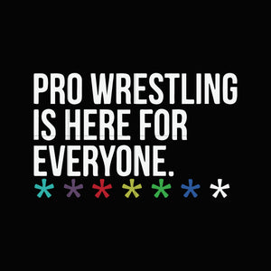 Pro wrestling is here for everyone svg,dxf,eps,png digital file