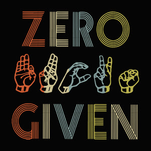 Zero given svg ,dxf,eps,png digital file