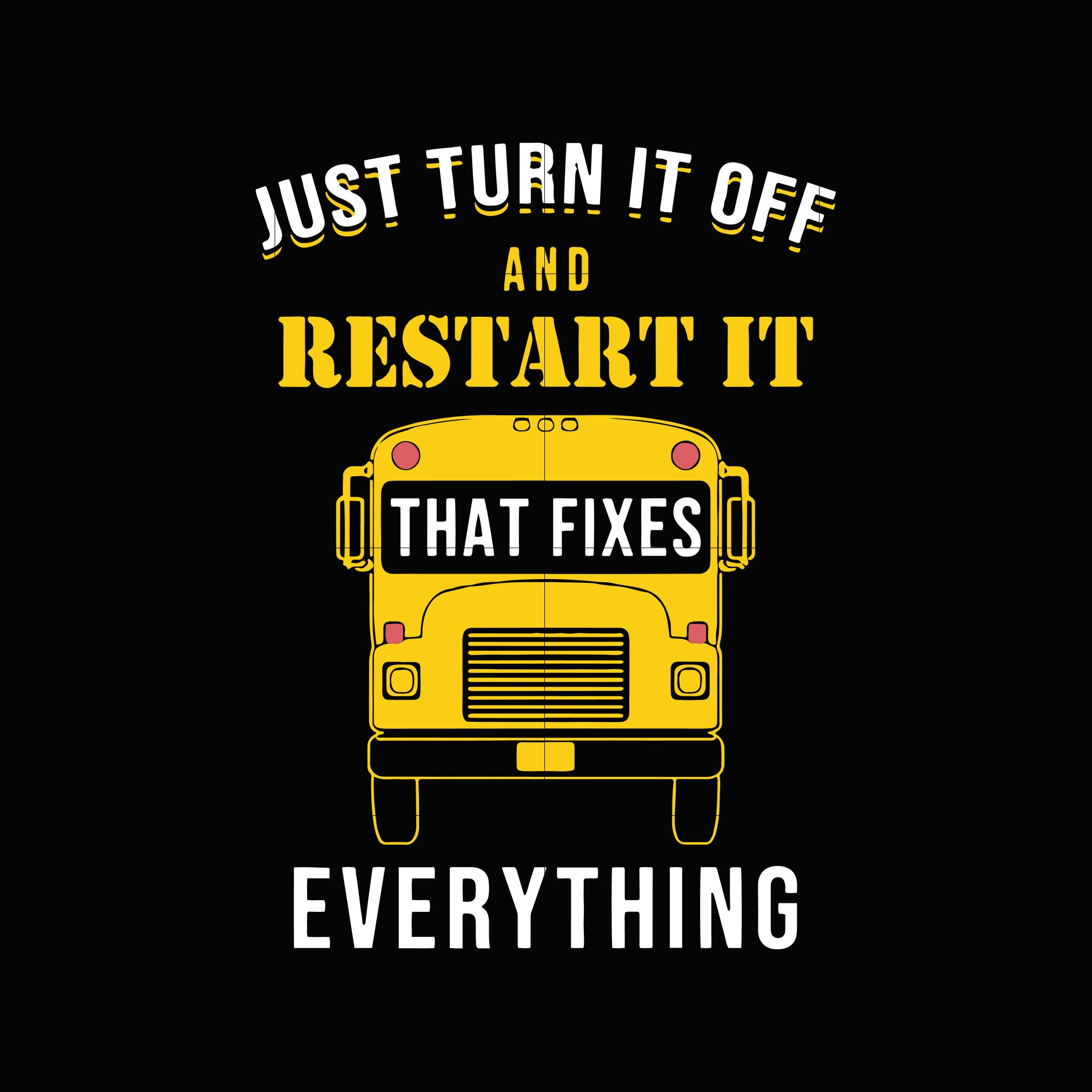 Just turn it off and restart it that fixes everything svg ,dxf,eps,png digital file