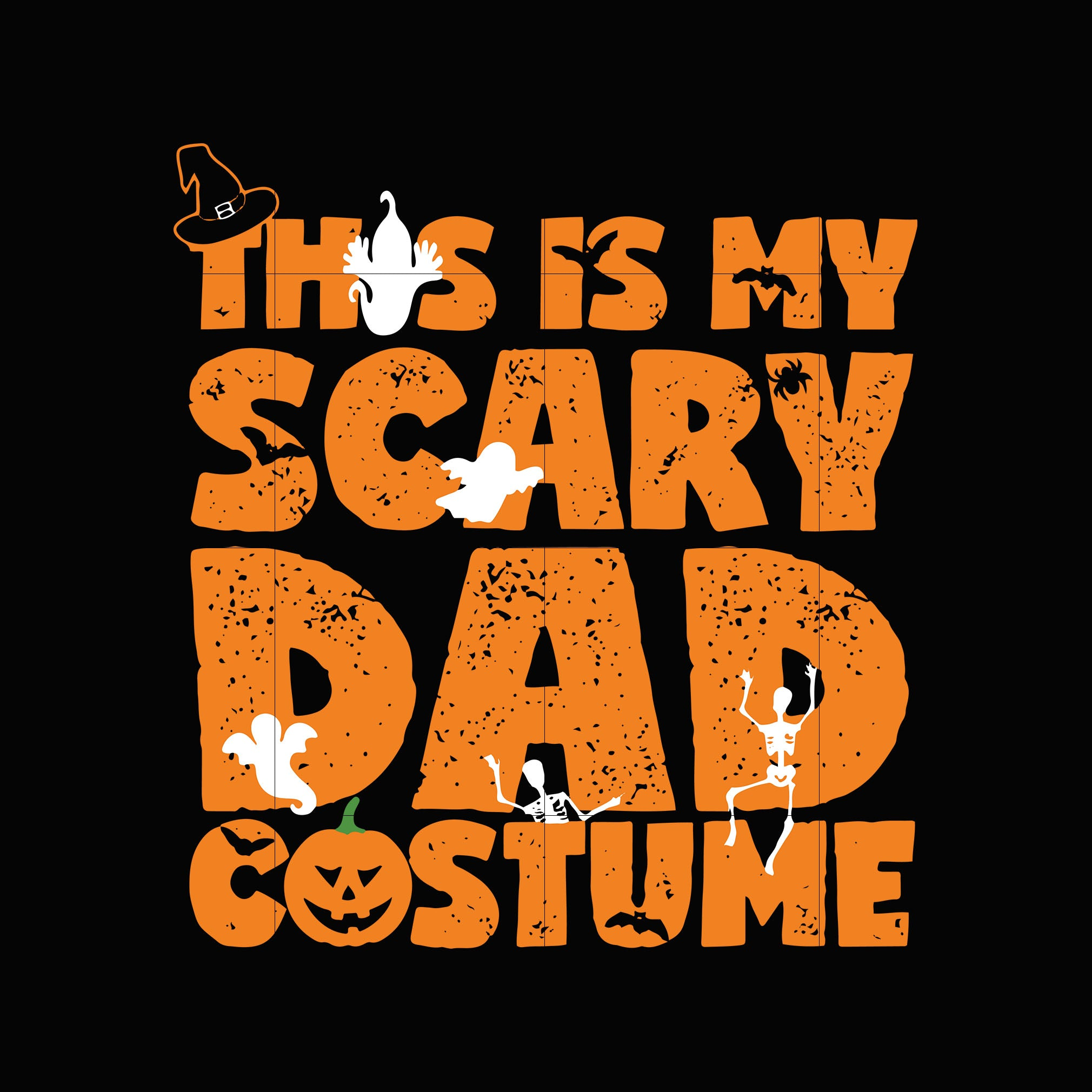 This is my scary dad costume svg ,dxf,eps,png digital file