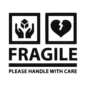 Fragile please handle with care svg ,dxf,eps,png digital file