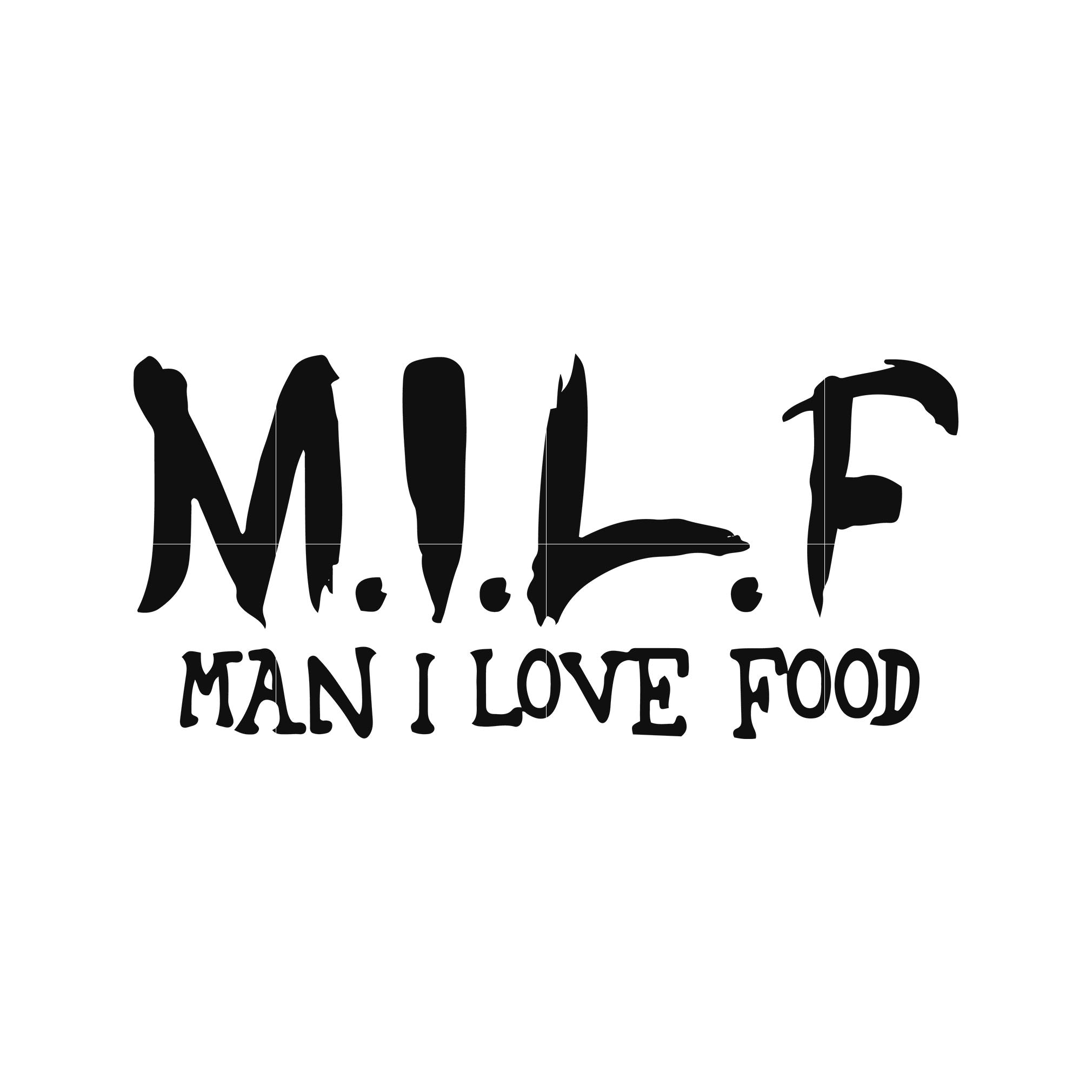 Man i love food svg,dxf,eps,png digital file