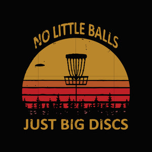 No little balls just big discs svg,dxf,eps,png digital file