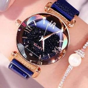 BLUE Magnetic Starry Sky Watch