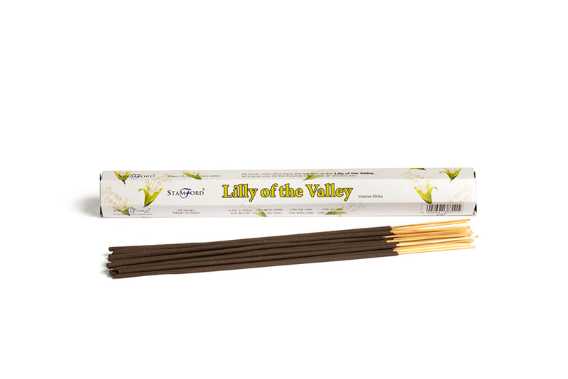 Stamford Lily of the Valley Premium Incense Sticks - Scented Guru