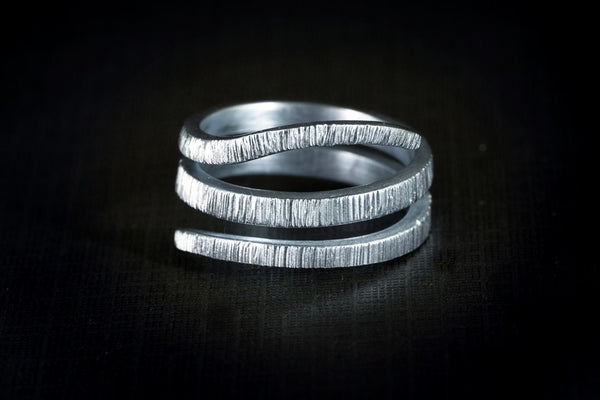 Sterling Silver Handcrafted Snake Ring