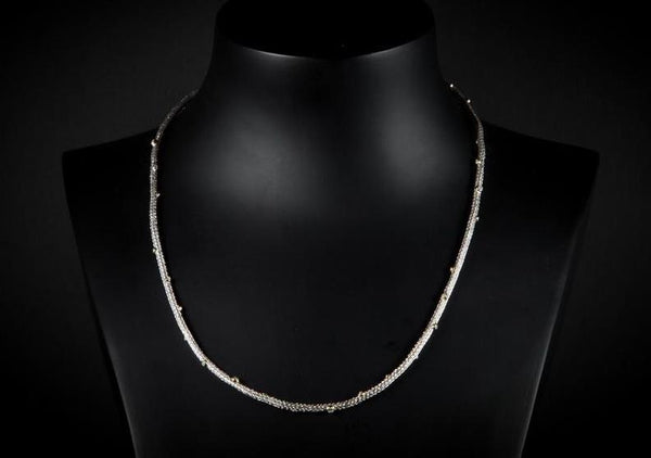 Sterling Silver Handcrafted Natalli Necklace