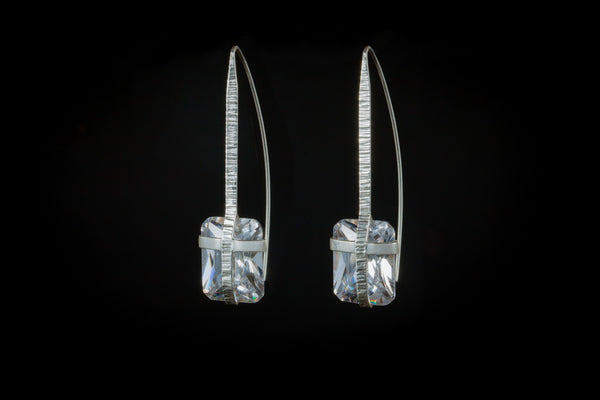 Sterling Silver Handcrafted Kingsley Earring