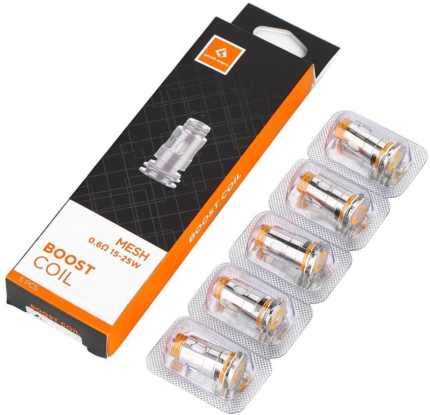 Geek Vape - Aegis Boost Replacement Coils - Set of 5-0.6 Ohm