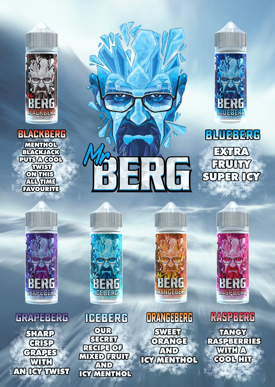 Mr Berg 100ml E-Juice (50G/50PG)