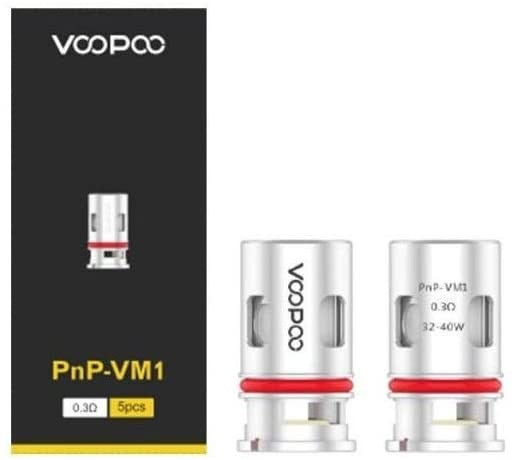 VooPoo PnP VM1 Mesh Coil 0.3ohm Atomizer