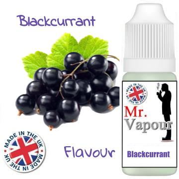 Mr Vapour Blackcurrant 10ml E-Juice (50VG/50PG)