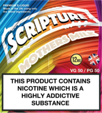 Scripture Mothers Milk x3 10ml E-Juice (50VG/50PG)