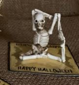 Miniature Yoga Skeleton
