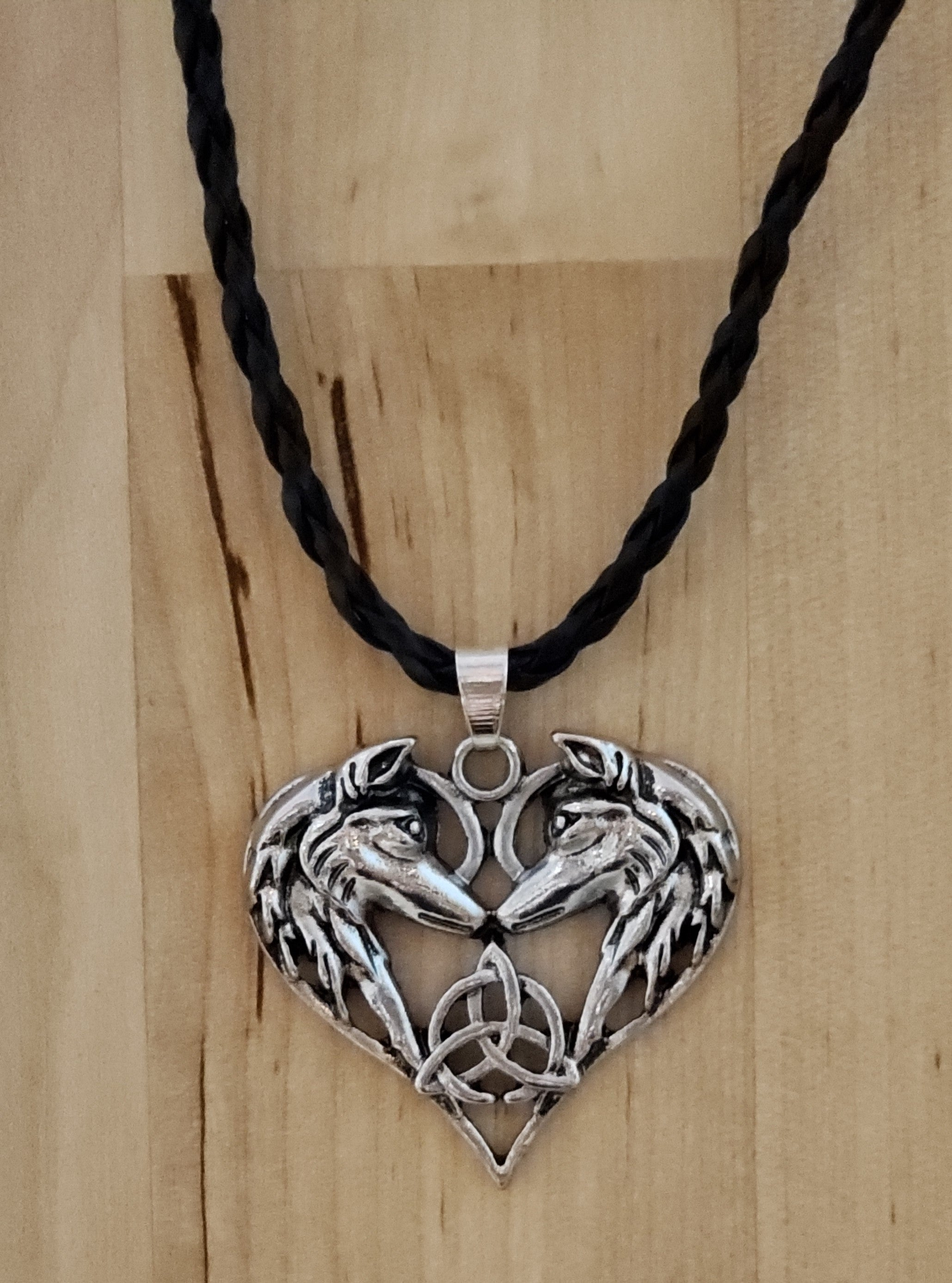 Celtic Wolf Neclace
