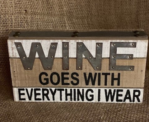 Wine Goes with Everything